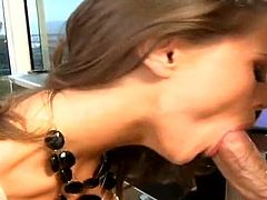 Pool table sex session with formidable beauty Tori Black