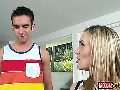 Logan Pierce fucks incredibly hot Tanya Tates mouth just like crazy