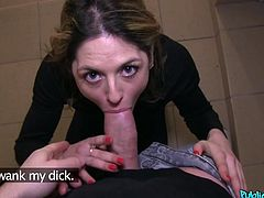 He wants to flash his dick to the hot Czech lady next door, and she agrees to take a look, if he gives her some the cash. She was amazed by his pecker, and she will wank and suck him off for a little bit more money. Who got the better deal? Probably him, because he gets to be inside her bush.