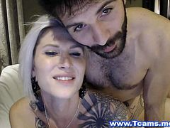 This hot couple is here once again to trigger your lusts and thirst for sex. See this guy as he cannot get enough of this hot and busty blonde tranny Danni Daniels. He grabs her ass and gives her a good rimjob. He licks her ass so good making her moan in pleasure. Her boyfriend fucks her in a dogstyle position and rams her ass fast. He held her hips and thrusts back and forth wildly. They then kissed and satisfied their lusts for one another. Her boyfriend cannot get enough of her as he ravages her body and kisses her in her neck. This couple surely know how to spice things up.