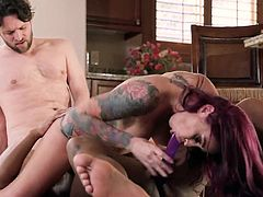 Visit official Brazzers Network's HomepageMonique Alexander gets Mya Mays along side in this flaming home threesome, both of them enjoying cock while fucking and sucking like true whores