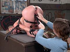 electro bdsm for adrianna nicole