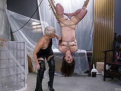 Are you looking for lesbian ass spanking, bondage, punishment & hardcore sex? Then this is the right place for you. Join us and enjoy breathtaking lesbian domination and rough punishment! Relax and have fun!