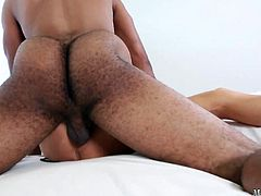 In this scene her pussy gets exactly that, as she takes on Jovan Jordan and his thick 10 inch slab of man meat. As Zoey gets on top and rides it, our cameras go in close so you can see just how tight her pussy is around his massive girth.