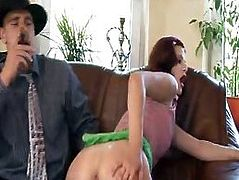 Milf's well banged by stooge of boss - More On HDMilfCam,com