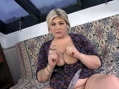 Chubby mature mom seduced by dirty boy