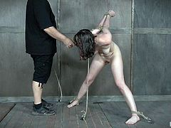 Whenever a woman like Sosha is getting disciplined, it can go easy or hard. She evidently chose the hard way, as you can see from the way she gets tied and caned. It will take a while, but she will be brought under control by her dedicated executor.