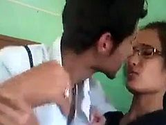 Desi College Girl Scandal wild kissing scene