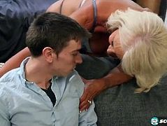 Mature Blonde And Her Sex Story With New Boyfriend
