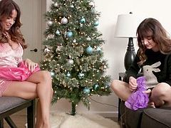 Anissa Kate's First Christmas as StepMom Decides to Fuck Her StepSon - FILF