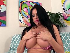 Mature Brunette Sheila Marie Plays with Herself Before Being Fucked