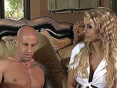 Some girls do it for money. Natalie Vegas is one of those girls. You could call her a whore. And you would not be wrong. Here she gets payed for a blow job.
