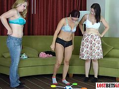 3 Girls Play a Strip Memory Game You'll Never Forget