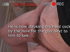 Daddy finds a Glory Hole!