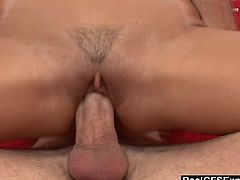 Hottie Mikayla gets picked up for shoot and gets her big tits fucked and covered with jizz