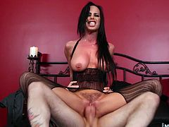 Her huge tits heave with anticipation when the first fingers stroke her clit. Her throat opens up to take any length, no matter how hard the thrusts, and her pussy just waters more for it Brandy will enjoy any rough treatment, as long as she gets to swallow the load at the end.