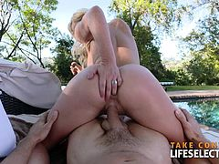 Cherrie Deville loves cock, she enjoys every moment spent a big hard cock. See it for yourself my friend…