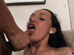 and down Jeremys hard cock like a personal fleshlight. Shes great at arching her back and squeezing her hole around his dick like every fuck doll should, but something about her sexy looks and perfect noises make him come back time and time again to thrust his cock down her hungry hole.
