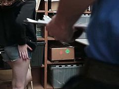Shoplyfter - Tight Pussy Teen Caught In Hidden Camera Sex