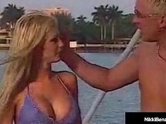 Penthouse Pet Nikki Benz Gives BlowJob But Busted On Yacht!