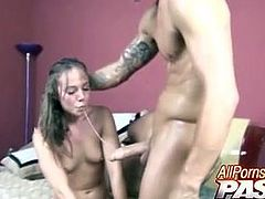 Hannah West Roughed Fucked Hard!