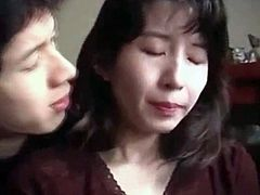 Japanese Mother Son Daughter 3Some