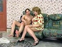 russian mature Louisa on the go