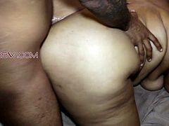 Having fun with EBONY BBW