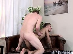 Justin Blaber and Daniel Johnson have steamy fuck session
