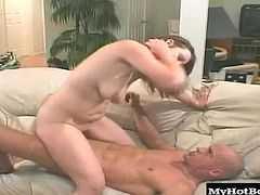 These two sexpots didnt hesitate for even a second when the fun began, gobbling down that cock and rocking it between the two of them, getting fully satisfied and making this stunt cock pretty happy too.