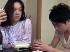 Japanese mom and son fuck - Watch part2 on opencamsex.com