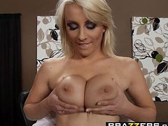 Brazzers   Big Tits at Work   Lexi Swallow and Keiran Lee   Swallowing her Boss