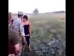she came to the soldiers