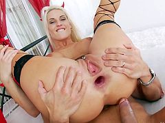 This seducing butt hole of Blanche Bradburry immediately needs some proper stuffing and Angelo Godshack's juicy dick will be just perfect for her. Hardcore anal insertion, titjob, ass-to-mouth and much more... Relax and have fun!