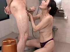 Japanese Mature BJ CIM 13