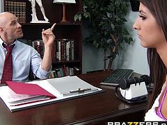 Brazzers   Teens Like It Big   Karina White Johnny Sins   Cock Knock For Counsel