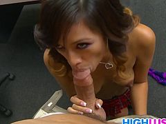 Inappropriate Behavior Punishment For Alliyah Sky