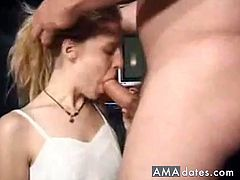 I like these videos as the woman actually stays on the cock until he finishes!