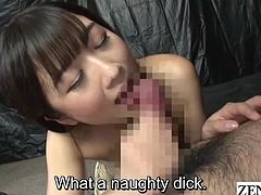 JAV legend Hibiki Otsuki finds part time work at a pink salon specializing in gokkun where she gives an impressive blowjob leading to some very audible cum swallowing with English subtitles