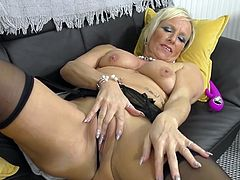 Join us right away at Mature NI! We guarantee you the best, exclusive mature content. Just take a look at our gorgeous Debbie. This smoking hot granny is in the heat and looking for juicy cock to suck on. Debbie is wet and wants your dick. Come on in and fulfill your dream!