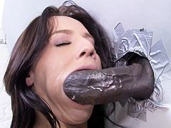 Karina O'Reilley Interracial Anal - Gloryhole