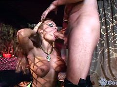 Anal addicted Bonnie Bon Lily Love and Lucy-Love double penetrated in hoy orgy party