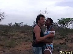 extreme wild outdoor african sex party with hot chocolade amateur babes
