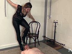 Taste My Boot, Whore! - Serve Your Mistress, Slave