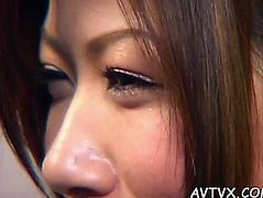 Awesome and wild oriental oral-job