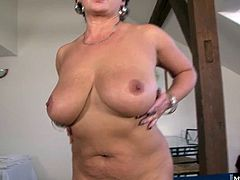 Jessica Hot is 5 shes still got it Plump and curvy, Jessicas built to take dick Her massive mammaries are still so sexy when she uses them to seduce her first black lover Shes got a trim and tidy bush above her plump pink pussy, and her lips turn red from the stretch she gets when she takes his 12 in balls deep