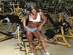 Hot Female Bodybuilder