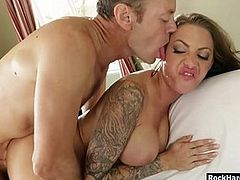Luscious woman throated and anal wrecked