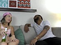 teen destroyed by a big black cock - who is she ?