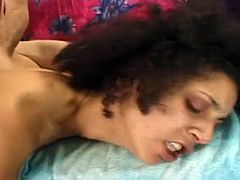 Hairy babe gets pounded by pervert